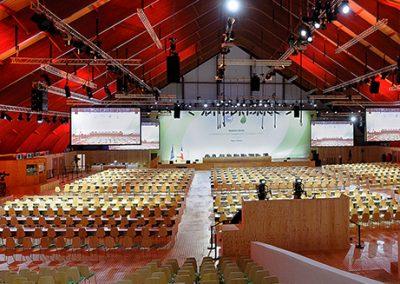 évènement salle vide